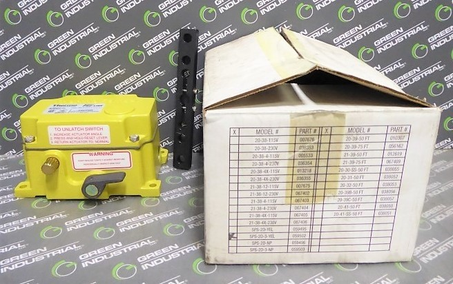Thermo Electron Corporation ROS-2D-3/SPS-2D-3/TPS-2D-3 Safety Pull Switch New