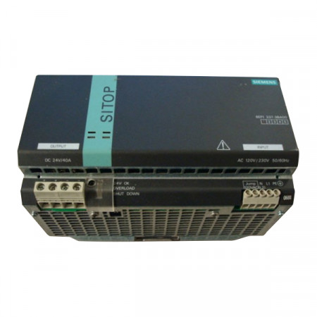 Siemens SITOP 6EP1337-3BA00 Power Supply 24VDC 40A Used