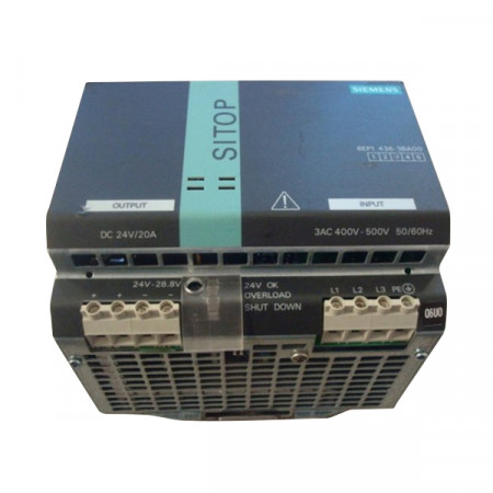 Siemens SITOP 6EP1436-3BA00 Power Supply 24VDC 20A Used