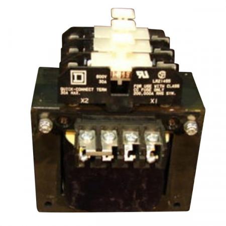 Used .350 KVA Control Transformer HV 230 / 460 LV 120 Square D TF3350D TESTED