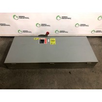 Used 400 Amp Fusible Safety Switch Disconnect Cutler Hammer DH365FGK 600 VAC 3 Pole