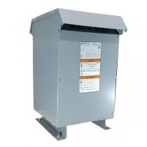 Factory New 50 KVA Single Phase Dry Type Transformer Primary 240 x 480 Secondary 120 / 240 10 Year Warranty 421-9225-000