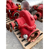 Used ITT AC Fire Pump, Centrifugal Fire Pump For Sale 2500 GPM Type 8100 Size 10x8x17