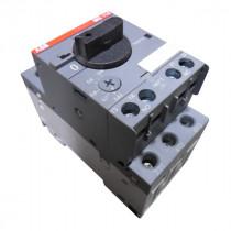 ABB MS 116 Manual Motor Starter Module 600VAC 1/2HP Used