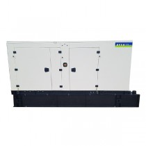 Factory NEW 150 KW Diesel Generator AKSA Power Generation Model APD-ULJ150 John Deere Engine 12 Lead In Stock Warranty