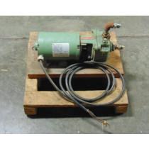 Burks Model 354CS6M Turbine Pump Assembly 1/2 HP 208-230/460V Used