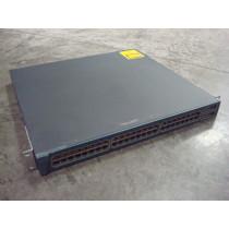 Cisco WS-C3550-48-SMI Catalyst 3550 48 Port Ethernet Switch Used