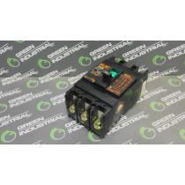 Fuji Electric SA33B Circuit Breaker 15 Amps 220VAC Used