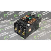 Fuji Electric SA33B Circuit Breaker 20 Amps 220VAC Used