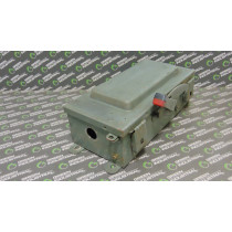 Square D HU362AWK Fusible Safety Switch 60 Amps 600Vac/dc Ser. D4 Chipped Used