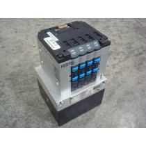 Kates / Festo DQ385 Pneumatic Valve EO-4696-110-011 Rev. C Used