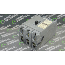 Westinghouse HFB3100 Circuit Breaker 100 Amps 600VAC Shunt Trip Used