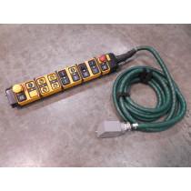 TER PF02180426 SPA Series 18 Button Crane Control Pendant Used