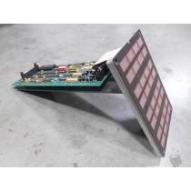 Bailey 6636448B1 Alarm Panel Board / Input Keypad Assembly Used