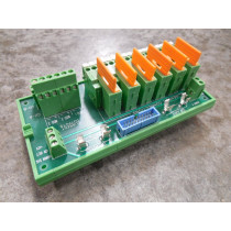 MSA 482209 Sensor Connection Module Rev. 1 Used