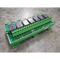 MSA 481640 Relay Module Rev. 3 Used