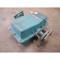 """Fisher & Porter 10D1418A 1"""" Magnetic Flowmeter 70 GPM Used"""