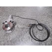 Rosemount 0158580B Nickel Alloy Flow Meter Body Used