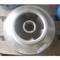 "Sturm Machine Co I-R 000224347907TRIM Stainless Pump Impeller 16.5"" Diameter"