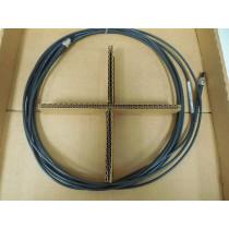 AMP 502144-4 00 Optimate 2.5mm Fiber Optic Cable Assembly 6 meter New NIB