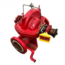 Used Centrifugal Fire Pump 2500 GPM Patterson Gorman Rupp Size 10x8x17 SSC 282 HP 100 PSIG 1 Stage