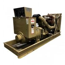 Used 350 KW Diesel Generator For Sale Cummins NTTA-855-G2 Twin Turbo Open Skid Tested