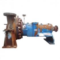 "Hazleton Type CAS Centrifugal Pump Model N-26226 4"" Inch 565 GPM Titanium 3550 RPM 1070 Feet Head FOR SALE USED"