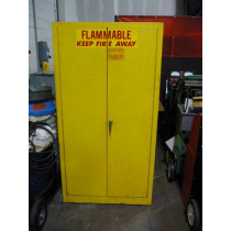 Flammables Fire Cabinet Used SE-CUR-ALL Securall Model A160 OSHA