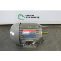 USED 3 HP Electric Motor Frame 182T 208-230/460 Volt TEFC 1800 RPM