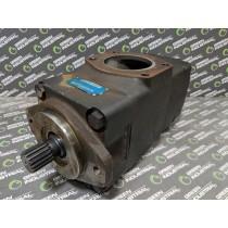 Denison T7EDS M72 M45 4L00 A100 Hydraulic Double Vane Pump 054-35359-0 Used