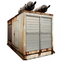 Used 500 KW Diesel Generator Cummins VTA-28-G1 Enclosed Tested For Sale VTA28
