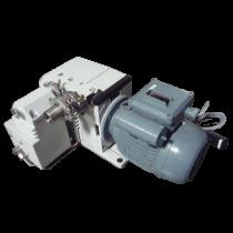 Leybold Trivac D8B Dual Stage Rotary Vane Vacuum Pump Used