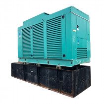 Used Diesel Generator For Sale 500 KW Cummins KTA-19-G4 Year 2001 Enclosed w/ Base Tank