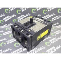 Square D FA36015 Circuit Breaker 15 Amps 600VAC Series 2 Used