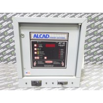 Alcad AT10-048-012-0122000 Battery Charger / Rectifier Unit 48VDC 39 Cells Used