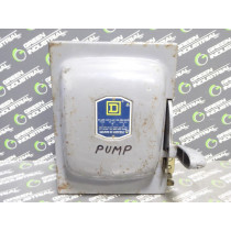 Square D A 87311 Fusible Safety Switch 30 Amps 240VAC Ser. C2 Used