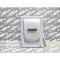 Cutler Hammer 4143H201 Fusible Safety Switch 30 Amps 250VAC 2 Poles Used