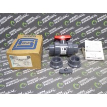 Spears 3629-102 TU 2000 1-1/4 PVC Standard Ball Valve Soc/Fipt New