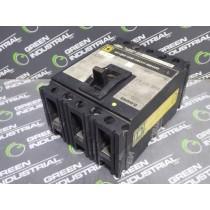 Square D FAL34020 Circuit Breaker 20 Amps 480VAC 250VDC 3 Poles Missing Lug Used