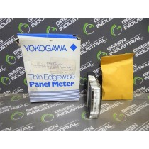 Yokogawa / EIL Instruments 287 Thin Edgewise Panel Meter 0-100% 4-20 mADC New