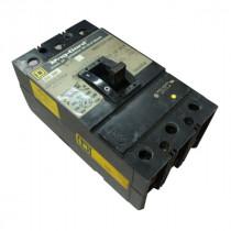 Square D KAP3625025M Adjustable Trip Breaker 250A Used