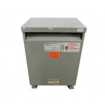 TESTED 30 KVA Dry Type Transformer HV 480 Delta LV 208 Y / 120 GE 9T23Q9873G19
