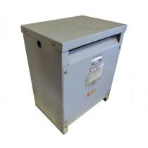 USED 14 KVA Dry Type Transformer HV 460 Delta LV 460 Y / 266 Cutler Hammer TESTED