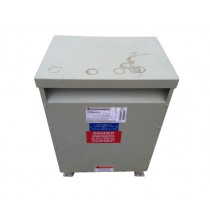 USED 30 KVA Dry Type Transformer HV 480 Delta LV 208 Y / 120 GE 9T23Q3463G13 K Factor Rated TESTED