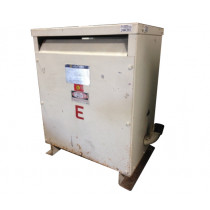 Used 30 kVA Dry Type Transformer HV 480 Delta LV 208 Y / 120 Square D 30T3H TESTED