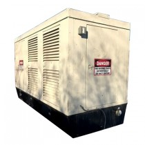Used 400 KW Diesel Generator Cummins KTA-19-GS2 KTA19 277 / 480 Volt Enclosed with Base Tank Tested