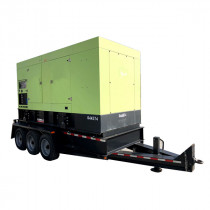 Used Mobile Diesel Generator 377 KW Pramac 8V1600G70S MTU 480 V Year 2013 350 KW Prime 380 KW Standby