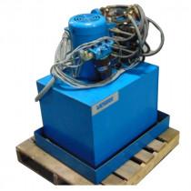Vickers TK25VP-VQ10SG Hydraulic Power Unit 5021226 5 HP Used