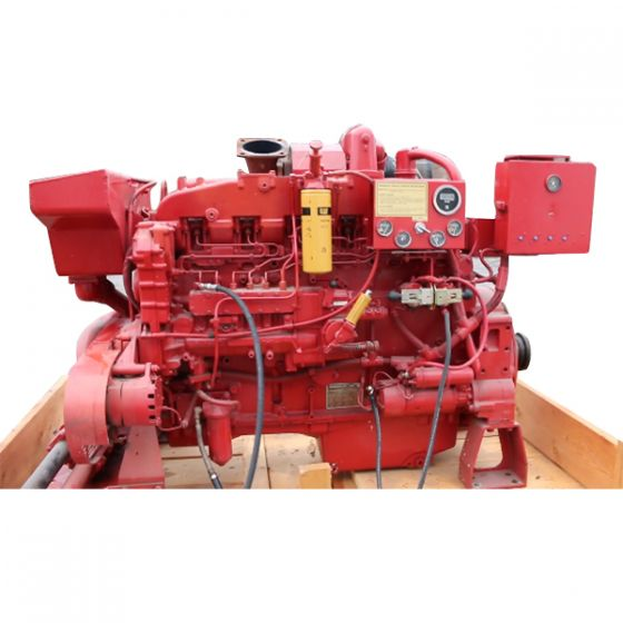 Used Diesel Fire Pump Engine CAT 3406B 370 HP Caterpillar For Sale TESTED