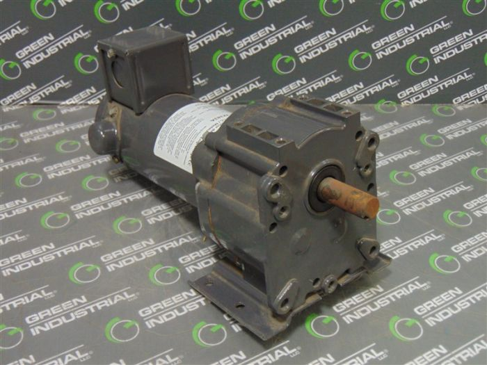 Dayton 4Z383A Industrial DC Gear Motor 1 8 HP 90V 31 RPM Used